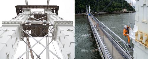 Restauração da Ponte Pênsil de São Vicente conquista prêmio