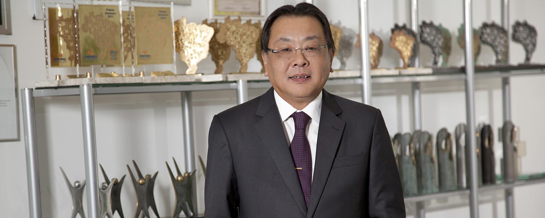 Sasazaki efetiva novo presidente executivo