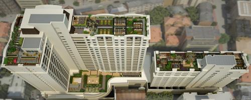 Novos empreendimentos apostam em telhados verdes