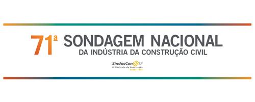 Sondagem Nacional da Indústria da Construção