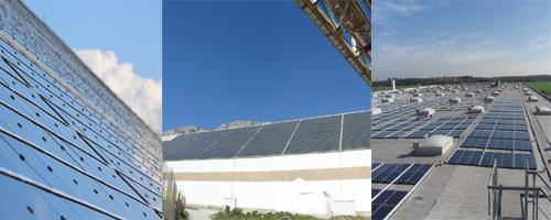 Painel solar alia design com alta resistência e tecnologia