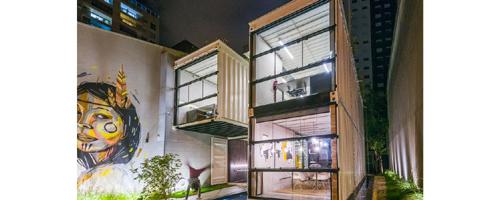 Projeto brasileiro de container vence prêmio internacional