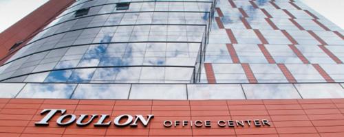 PKO do Brasil forneceu vidros para o Toulon Office Center