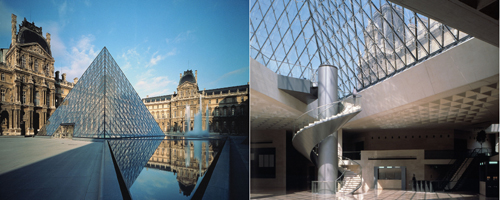 "Pirâmide do Louvre vence o ""AIA 25 Year Award"""