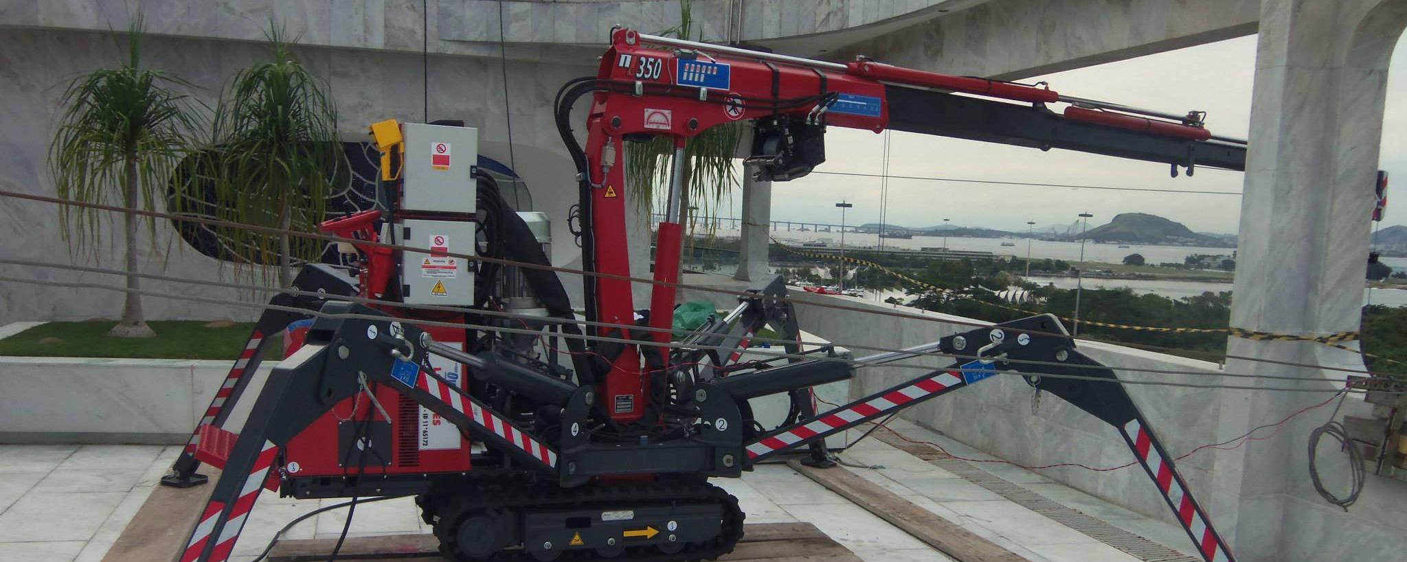 Empresa especialista em movimentação vertical de cargas