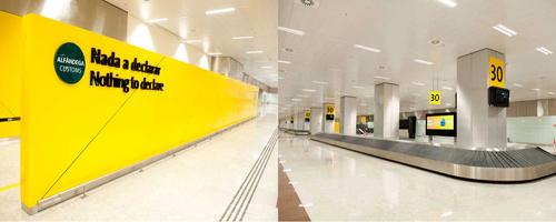 Aeroporto de Guarulhos recebeu 70 mil m² de ACM