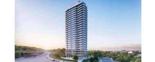 Edifício inspira-se na arquitetura de Dubai e Barcelona