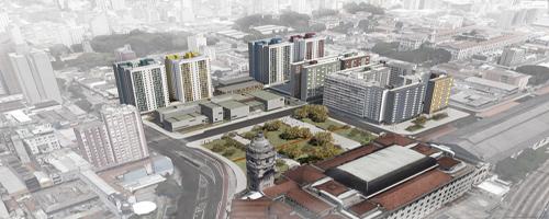 Antiga rodoviária de SP terá complexo residencial-comercial
