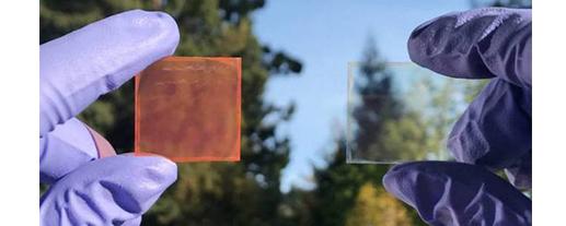 Vidro que converte energia solar em eletricidade