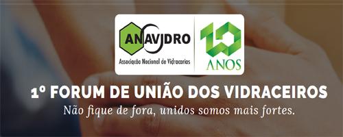1ª edição de Fórum de União dos Vidraceiros acontece amanhã