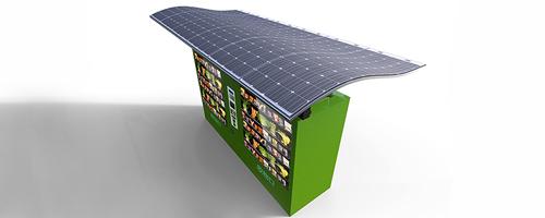 Painel solar 80% mais leve do que os tradicionais