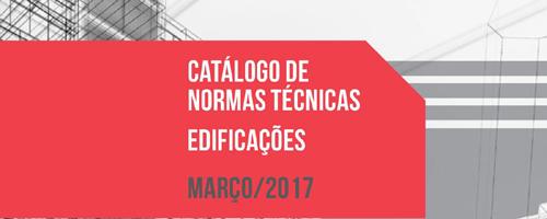 Lançada 6ª edição do Catálogo de Normas Técnicas